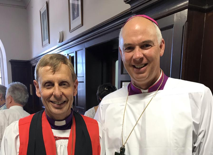 Bishop Peter Carrell